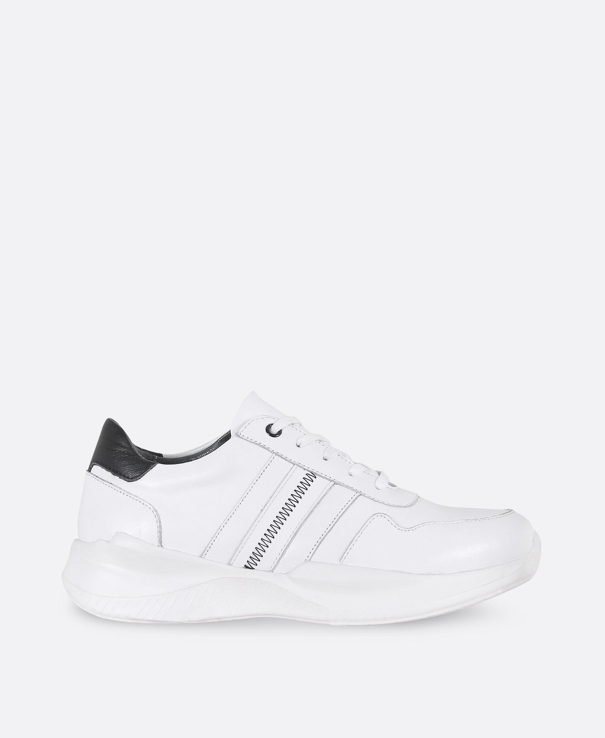کفش کتانی زنانه چرم 0295