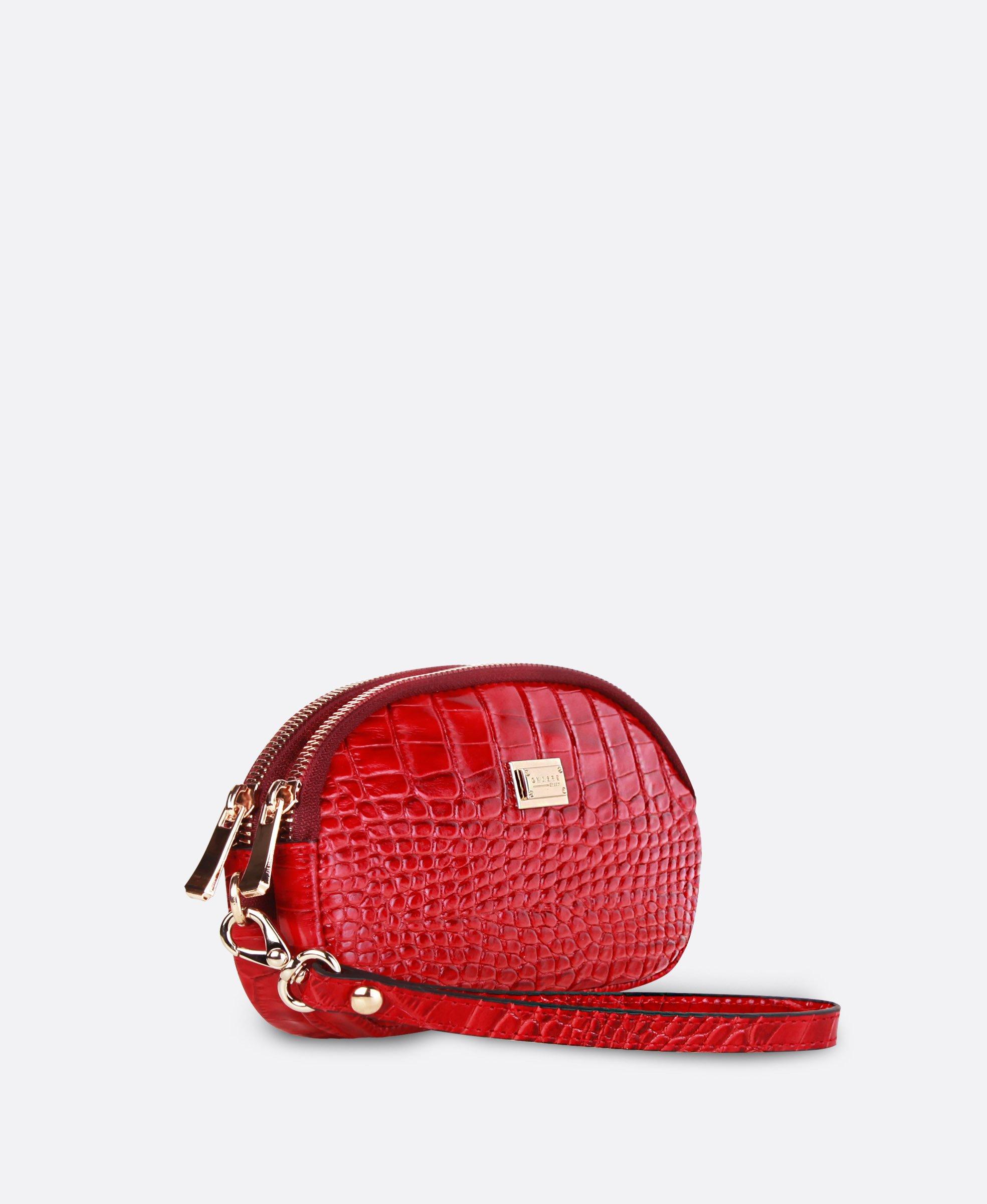 کیف پول دستی زنانه چرم 2596