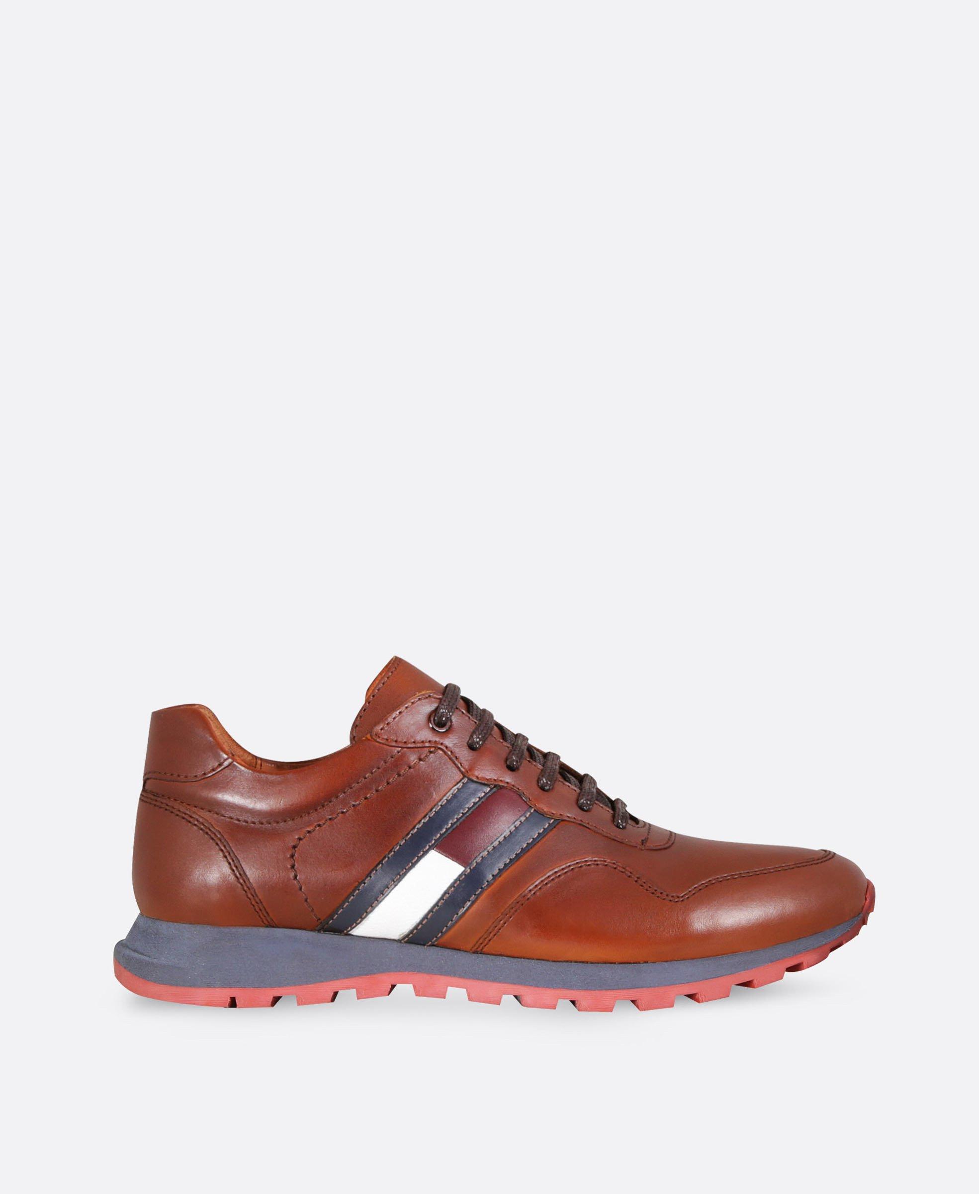 کفش کتانی مردانه چرم 3207