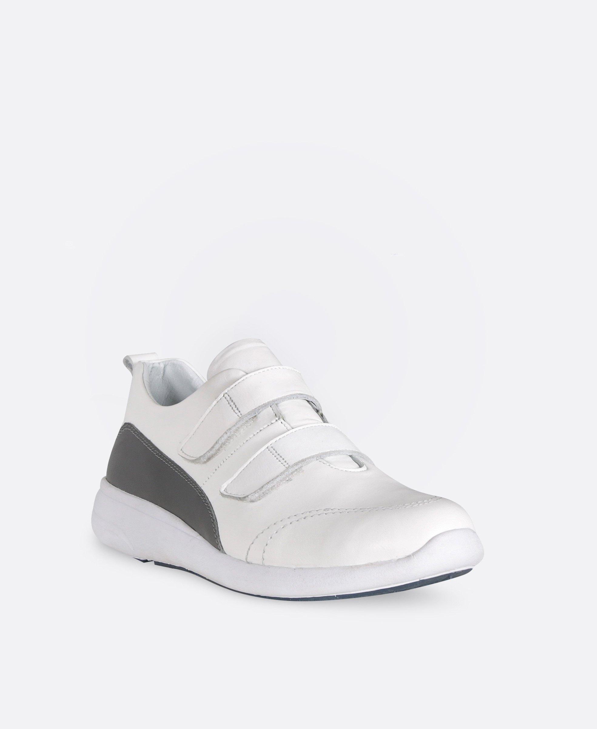 کفش کتانی زنانه چرم 0263
