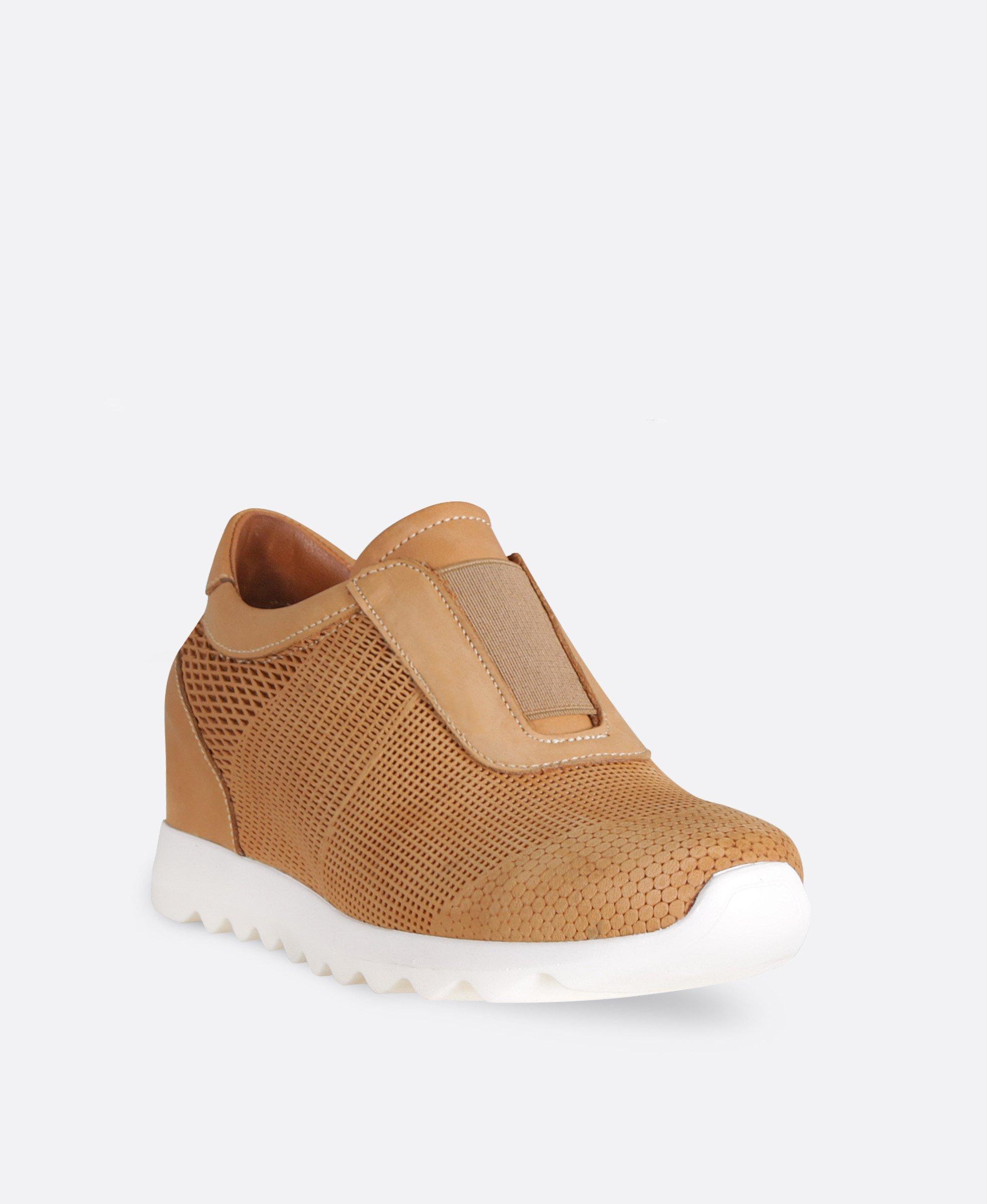 کفش  کتانی زنانه چرم 0104