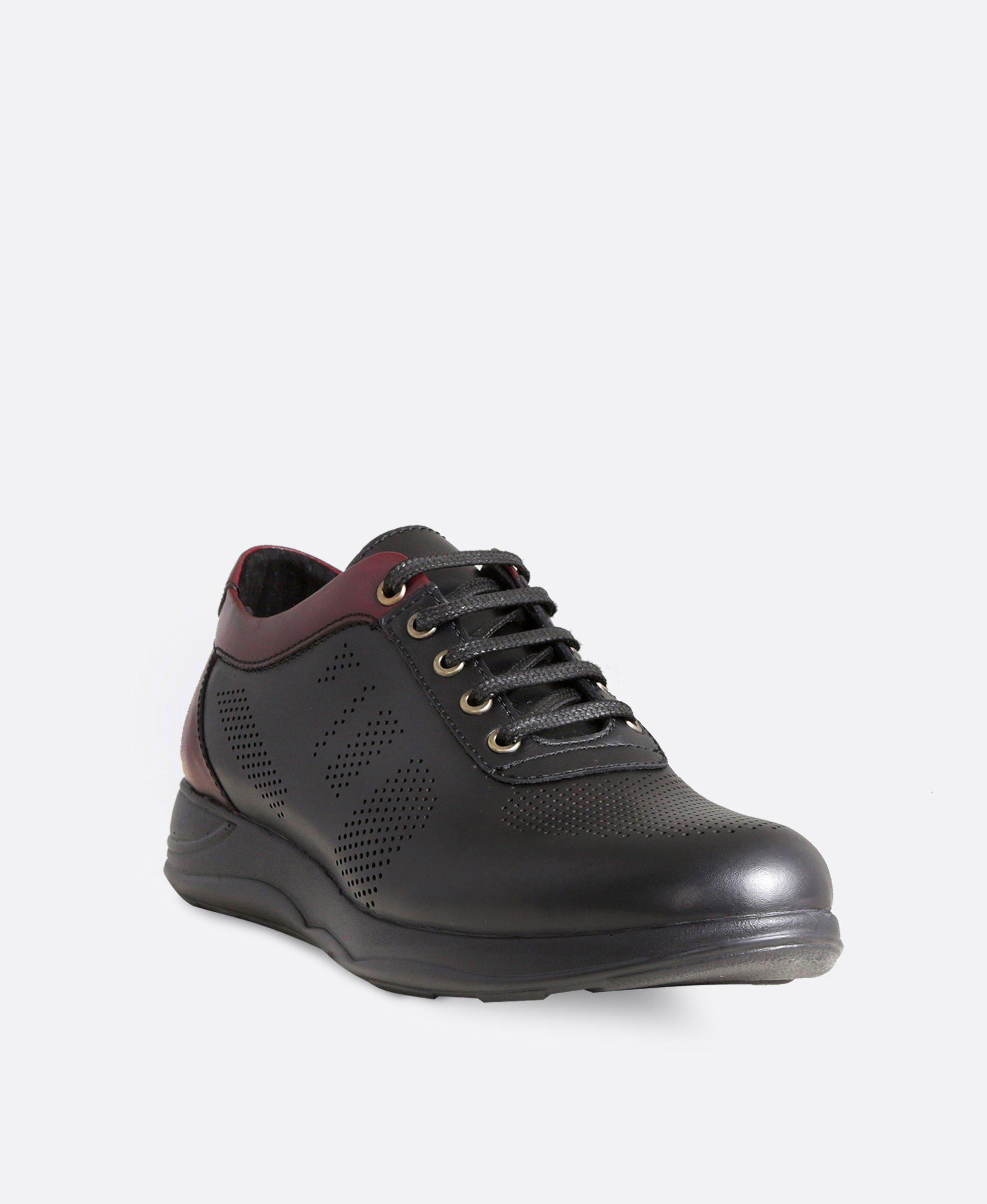 کفش کتانی مردانه چرم 3208