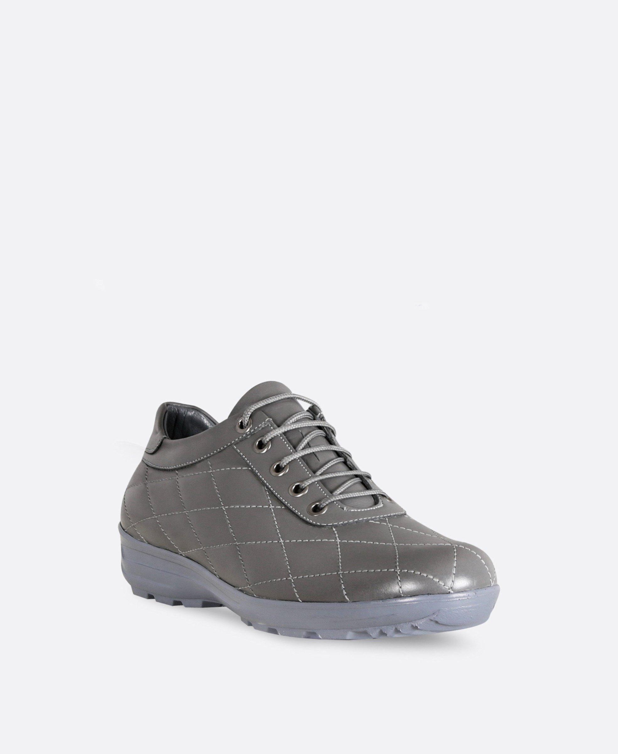 کفش کتانی زنانه چرم 0107